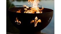 Fleur de Lis Fire Pit-2