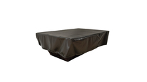 Heavy-duty vinyl fire pit cover