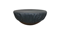 Round Vinyl Fire Pit Cover
