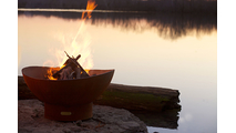 Scallops Wood Burning Fire Pit- 2