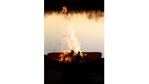 Scallops Wood Burning Fire Pit- 4