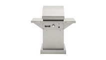 26 Inch TEC Patio FR Infrared Grill On Stainless Steel Pedestal