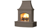 Phoenix Vented Outdoor Gas Fireplace - SHWON WITH (F) - HEARTH