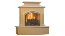 Mariposa Vented Outdoor Gas Fireplace