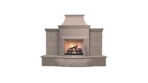 Grand Petite Cordova Vented Outdoor Gas Fireplace