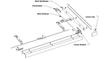 Specs Of Corner Recessed Screen