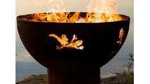Kokopelli Wood Burning Fire Pit 36 Inches