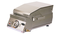 Solaire AllAbout Single Burner Gas Grill - closed.