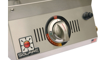 Solaire AllAbout Single Burner Tabletop Gas Grill - control knob.
