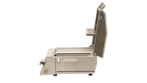 Solaire AllAbout Single Burner Gas Grill - side view.