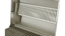 Solaire AllAbout Double Burner warming rack folded up.