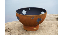 Tropical Moon Wood Burning Fire Pit- 3