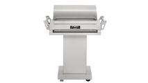 36 Inch TEC G-Sport FR Infrared Grill On Stainless Steel Pedestal