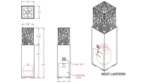 Nest Lantern Spec Sheet