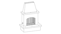 Vented Outdoor Gas Fireplace