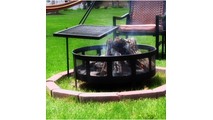 Adjustable Heavy Duty Fire Pit Cooking Grill Grate