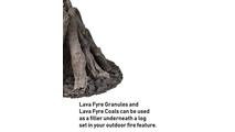 Use lava fyre granules & coals underneath your Desert Sage fire pit log set!