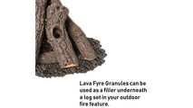 Use lava fyre granules underneath your Prairie Oak Stack log set!