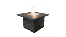 Square Voro Fire Table 36 Inch