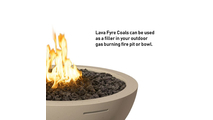 Lava fyre coals are the perfect filler for fire pits and bowls!