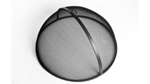 Lift Off Dome Screen is made of carbon steel with a classic black finish