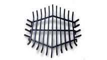24 Inch Round Carbon Steel Fire Pit Grate