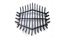 36 Inch Round Carbon Steel Fire Pit Grate