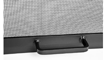 Square Stainless Steel Hinged Fire Pit Screen door handle