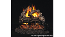 16 Inch Golden Oak Log Set