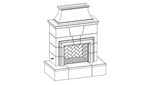 Cordove Vented Outdoor Gas Fireplace