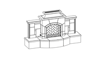 Grand Mariposa Vented Outdoor Gas Fireplace