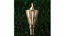 Trojan Style Stainless Steel Tiki Torch