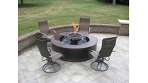 Evolution 360 with the optional aluminum surround used as a customer's fire pit!