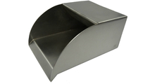 12 Inch Wide Stainless Steel Radius Scupper