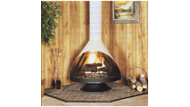 Malm Zicron Wood Burning Fireplace 34 Inch