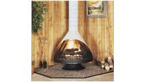 Malm Zicron Wood Burning Fireplace 34 Inch
