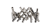 Polished Logs Stainless Steel Fire Pit Ornament without flames