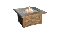 Square Sierra Fire Pit Table 44 Inch