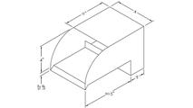 Smooth Flow Radius Scupper Dimensions