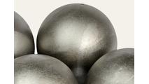 Close up of Steel Fire Balls