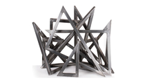 Triangle Sculpture without flames