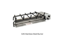 Included Outdoor G45 Stainless Steel Burner