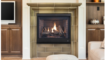 Superior drt4240 direct vent gas burning fireplace