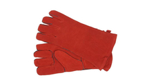 Red Suede Heat Resistant Hearth Gloves