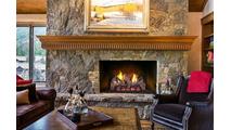Foot Hill Oak ventless gas logs in a home