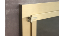 Hinge detail - Antique Brass finish