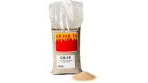 A 10 pound bag of white sand is included for natural gas burners