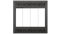 ZC Refacing In Textured Black Finish with STO1511 louver design