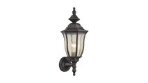Bennet Outdoor Wall Sconce in Graphite Black