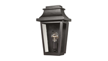 Covina Outdoor Wall Sconce in Matte Black